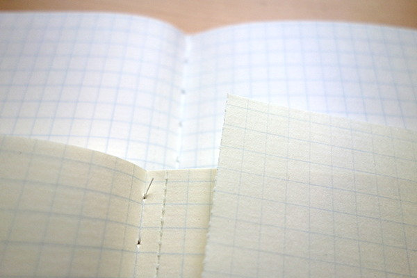 ツバメノート社製 Thinking Power Notebookの紙面