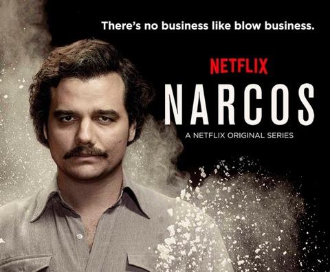 Netflix オリジナルドラマ「ナルコス」が面白い