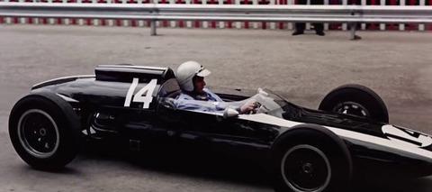 1962年のF1モナコGPを車載カメラで撮影した高画質のムービー
