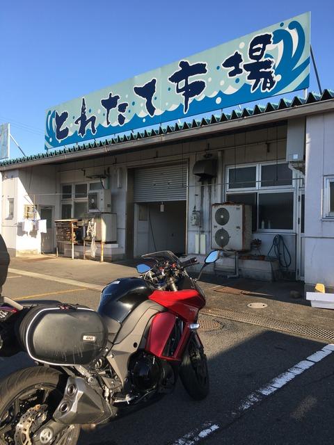 福井へ鮮魚買付ツーリング(2017年11月中旬)