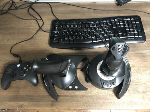 【XboxOne/PC対応】Thrustmaster T-Flight Hotas One エースコンバット7エディション 買ってみました
