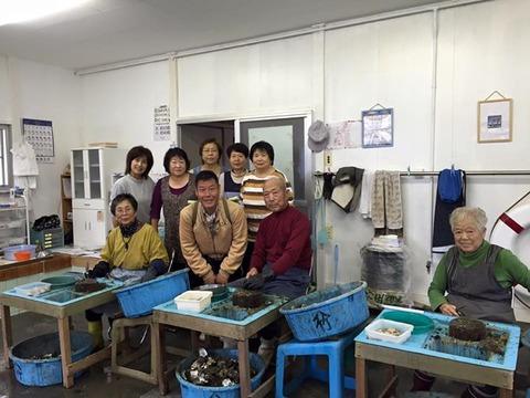 浜松に牡蠣を買いに行きました 八木田牡蠣商店 2回目