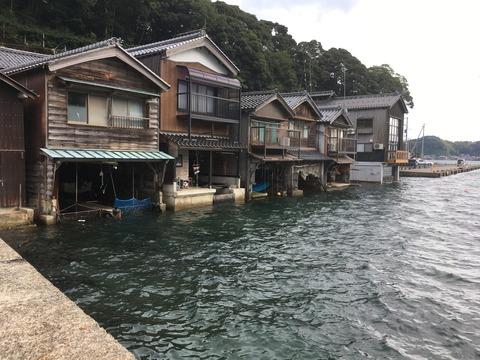 福井県と京都府北部へ旅行に行ってきました その2「舟屋でのむ台湾茶」