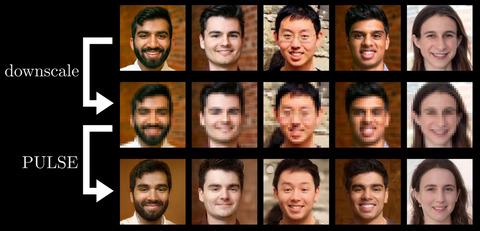写真の顔のモザイク、ついに完全に外せる時代に -デューク大学のPulse-