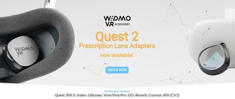 Oculus Quest 2 専用眼鏡「WIDMOvr」を購入してみました