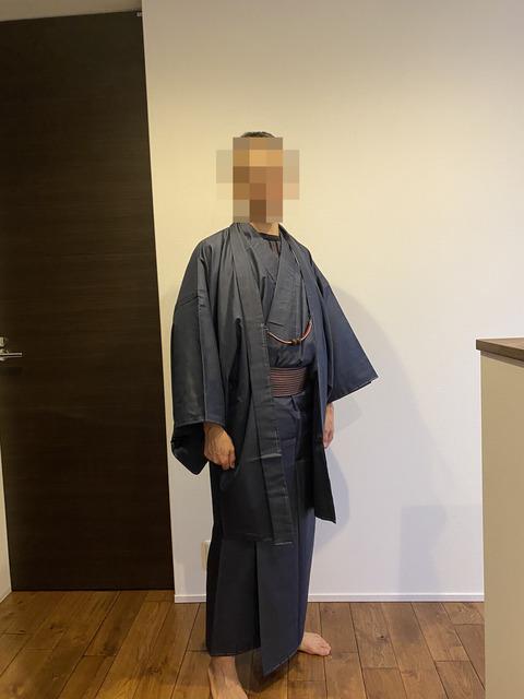 【男着物】リサイクル着物で大島紬を帯付きで2万3000円で手に入れました