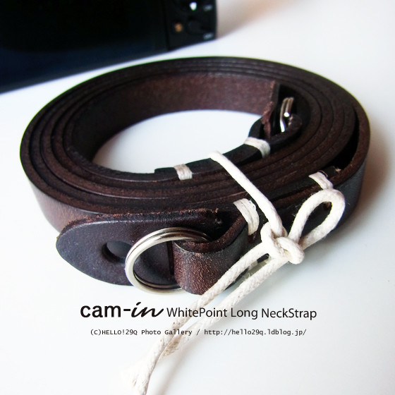 Cam-in WhitePoint Long NeckStrap