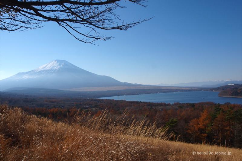 山中湖パノラマ台:富士山