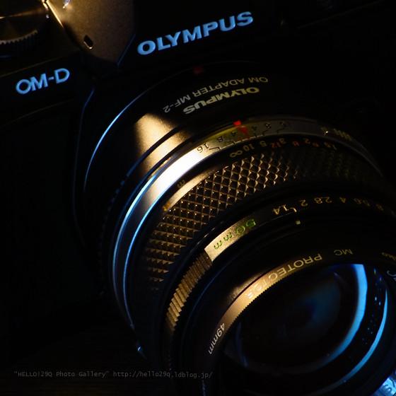 OM Zuiko 50/1.4 + MF-2