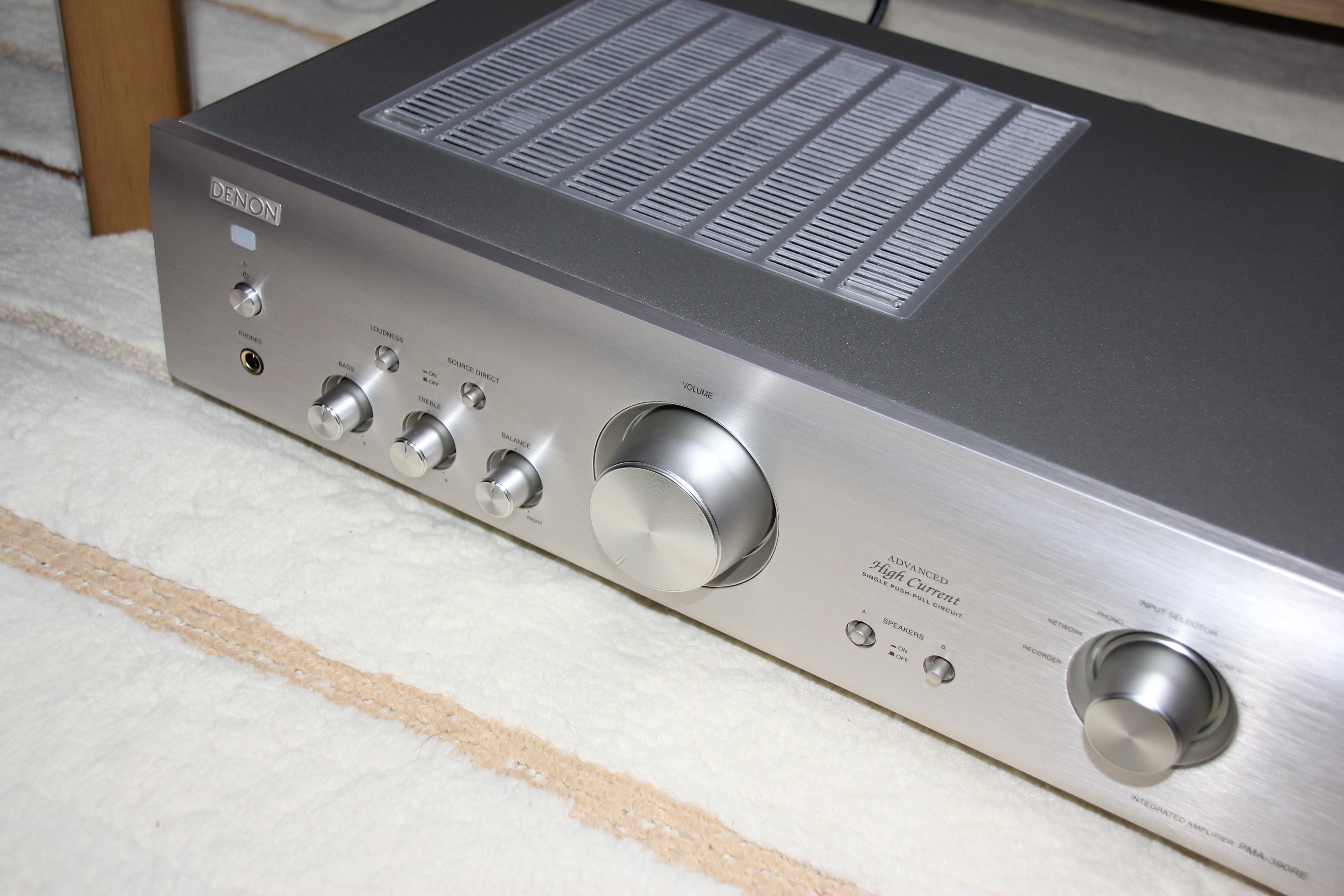 DENON Integrated Amplifier PMA-390RE Sound out OK!