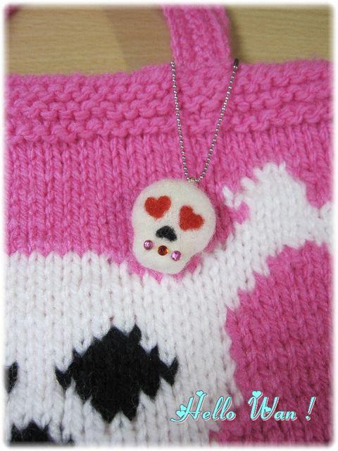 pink skull 2