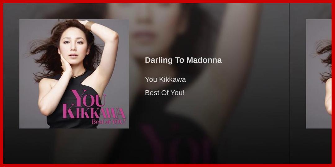 [動画あり][吉川友]Darling To Madonna