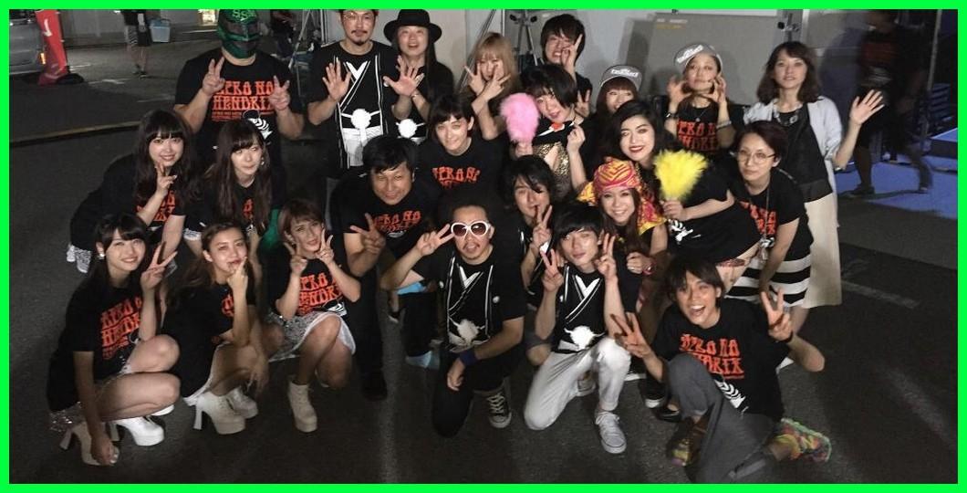 萌えてお出かけ ℃-ute出演 「アフロの変フェス」 お台場夢大陸 SUMMER GATE スタジアム(東京)