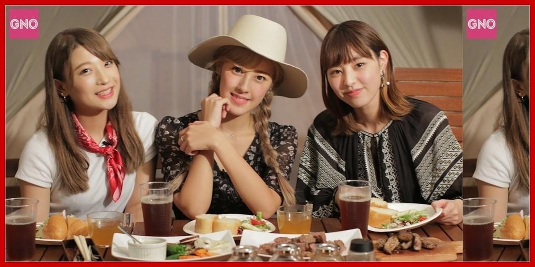 【動画あり】【Girls Night Out#39】PINK CRES.でグランピング、佐藤・牧野の天ぷら作り、写真トーク、メープルウォーター 他!