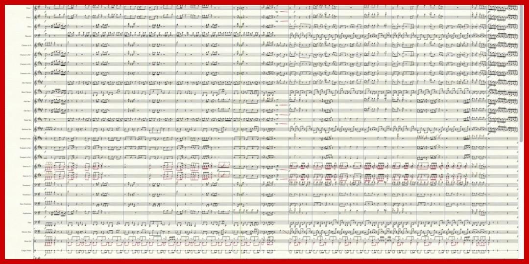 [動画あり]【編曲してみた】46億年LOVE(ANGERME)吹奏楽譜