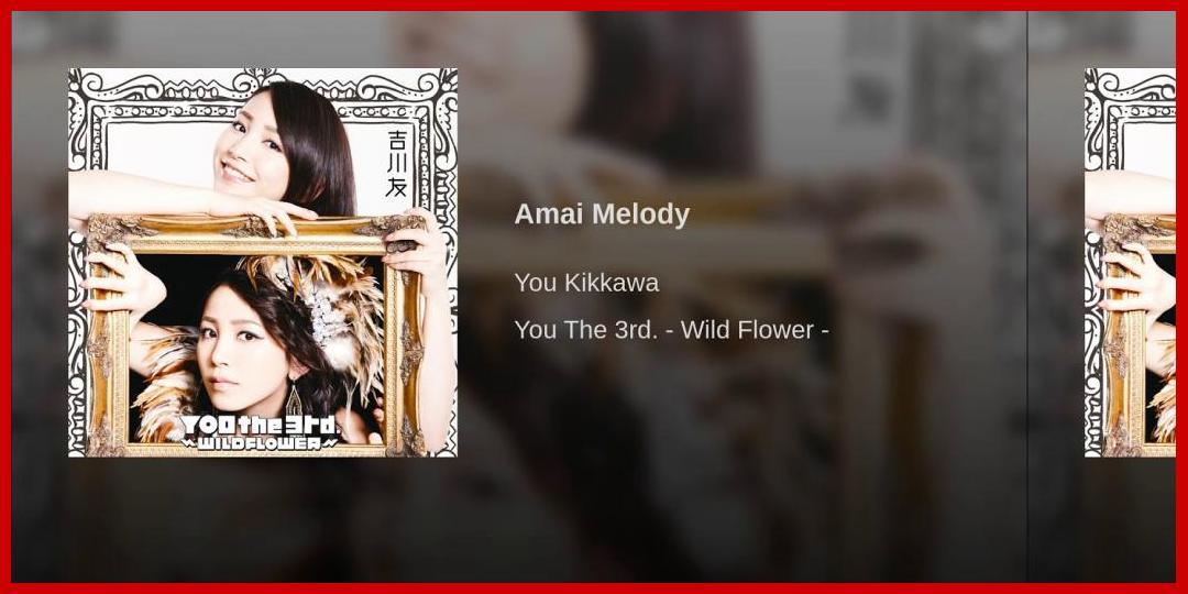 [動画あり][吉川友]Amai Melody