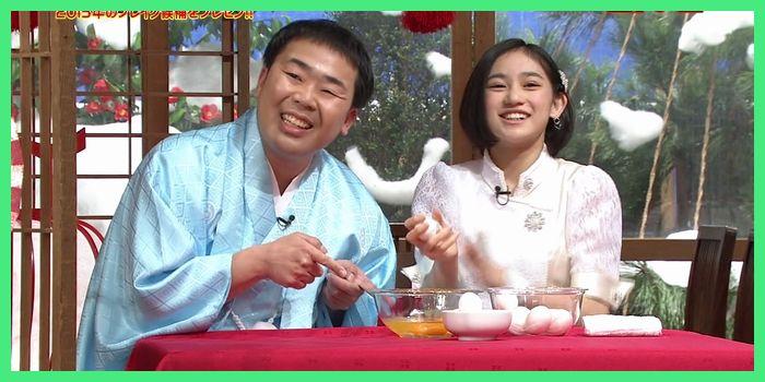 岩尾さん「(まさに)生タマゴShowですね」 莉佳子「Oh!」