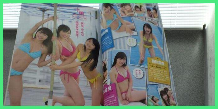 モーニング娘。'14譜久村聖• 鞘師里保• 石田亜佑美 「少年サンデー」表紙 さらに・・・マジか+゚。*(*´∀`*)*。゚+