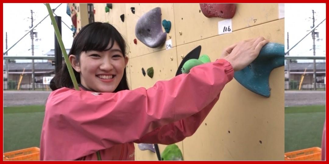 [動画あり]「えひめ西条!移住応援大使」川村文乃(アンジュルム)の体験クライミング
