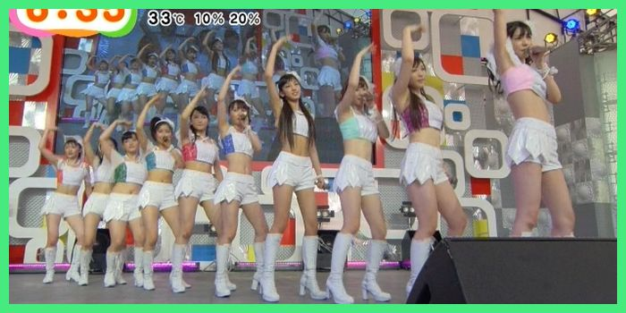 ちぇきら モーニング娘。14℃-ute お台場新大陸めざましライブ2014