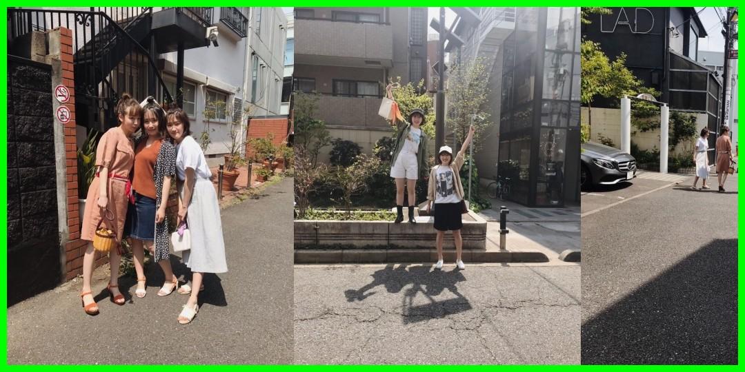[勝田里奈/笠原桃奈/川村文乃]mina7月号 本日発売になりました私の連載「R Fashion Tool」に、笠原桃奈ちゃん・川村文乃ちゃんの2人がゲストです今回はテ…(2019-05-20)[定]