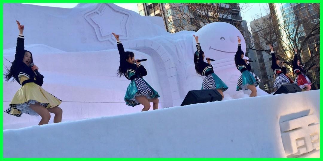 【癒してイベレポ】第67回さっぽろ雪まつり「カントリー・ガールズ ブギウギLIVE」(2/9北海道・大通西8丁目会場)
