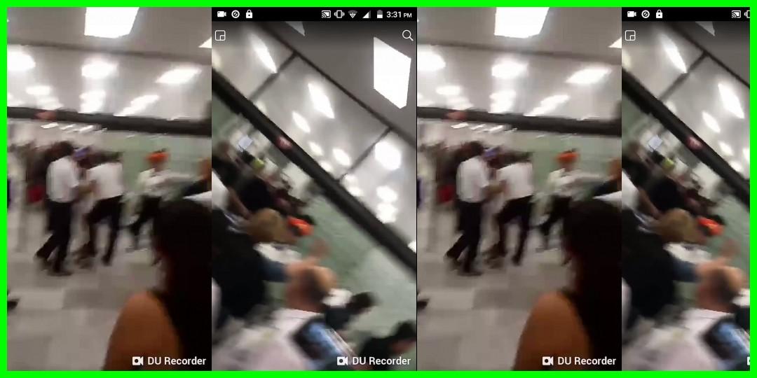 モーニング娘。'18 メキシコ到着 メキシコ・シティ国際空港での現地ファンによるお出迎え