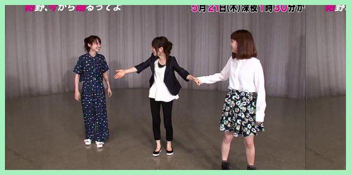 【動画あり】 紺野あさ美・新垣里沙・高橋愛[紺野、今から踊るってよ]