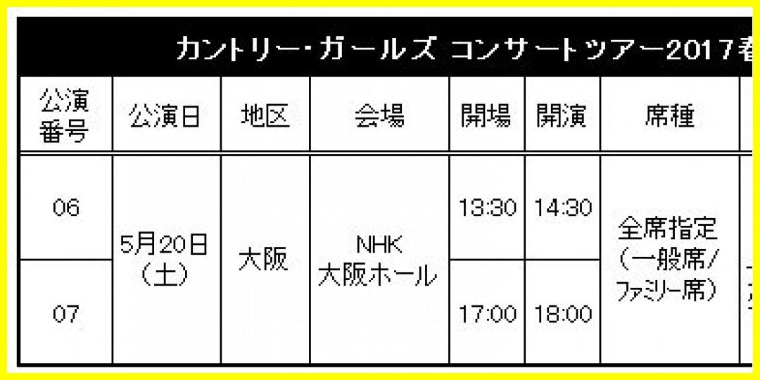 【公式】「カントリー・ガールズ コンサートツアー2017春 ~ももちイズム~」追加公演 FC先行受付のお知らせ