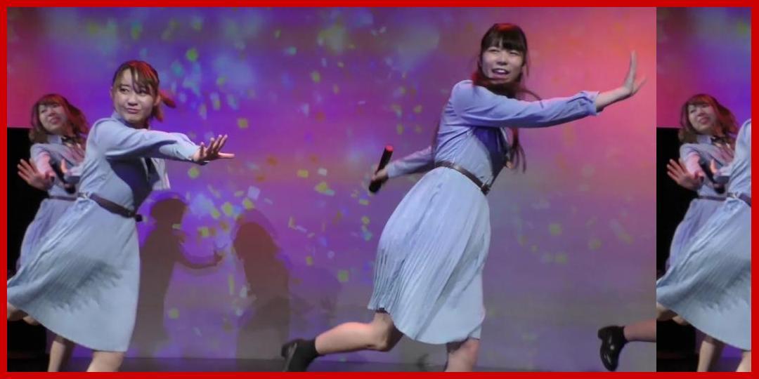 関根梓×成城彼女(成城大学)「バレバレI LOVE YOU」【アップアップガールズ(仮)×UNIDOL Special Event】2018年11月19日@ Key Studio[アップアップガールズ]
