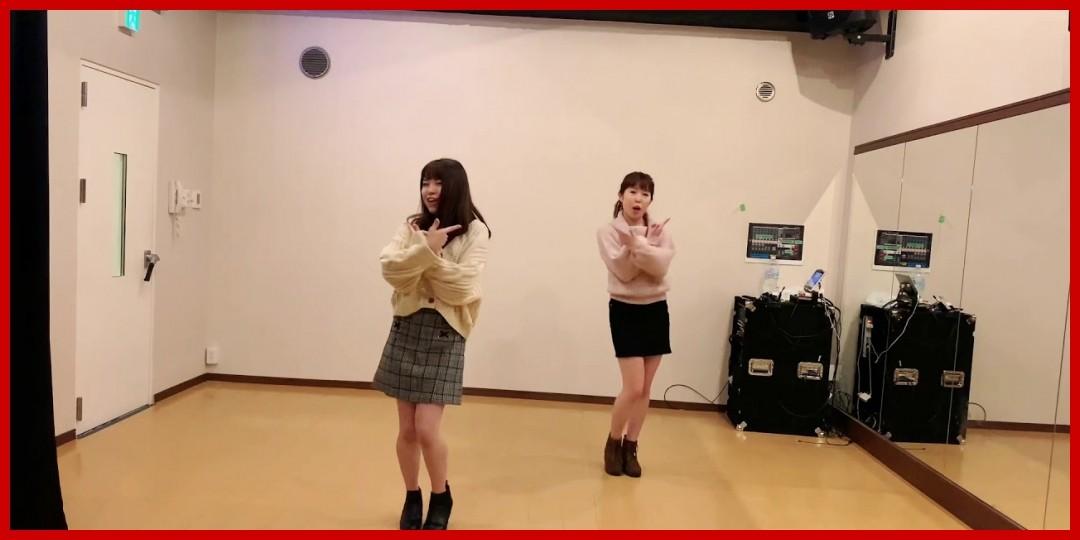 [動画あり][アップアップガールズ(2)/ハロプロbigfan]【ゆいみむ】【踊ってみた】(2019-01-03)