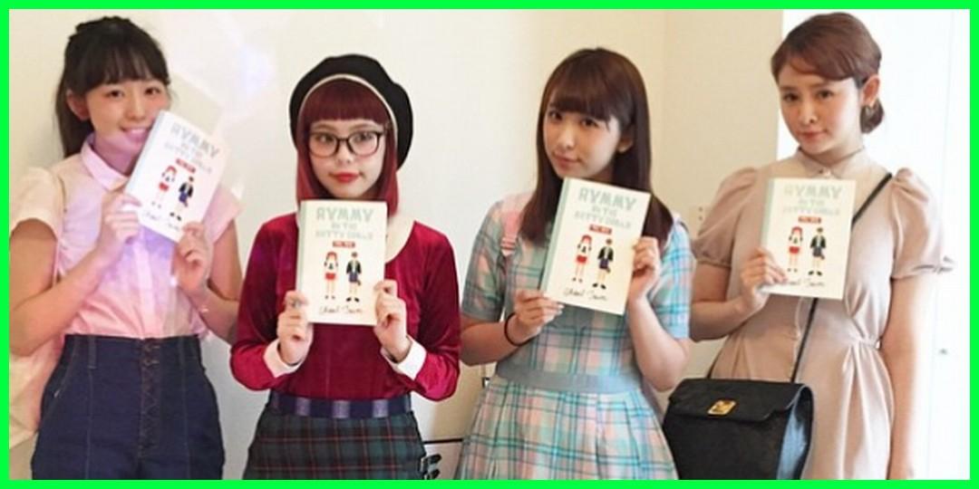 Aymmy in the batty girlsさん「アンジュルムの勝田里奈さん、福田花音さんと、 菅谷梨沙子さん。ありがとうございました!」