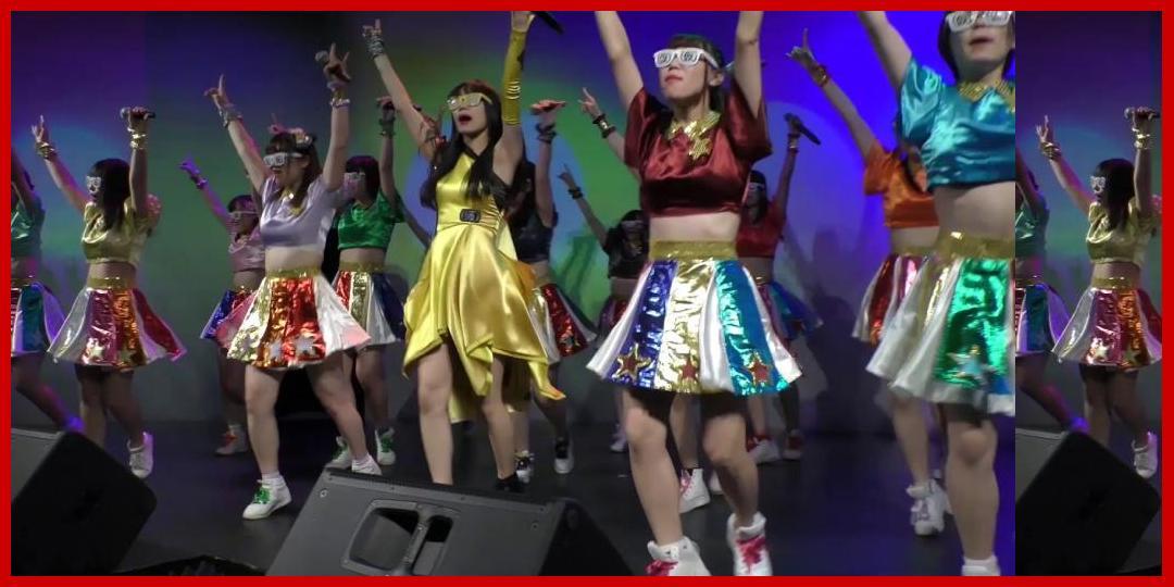 佐保明梨×Tomboys☆(東洋大学)「パーリーピーポーエイリアン」【アップアップガールズ(仮)×UNIDOL Special Event】2018年11月19日@ Key Studio[アップアップガールズ]
