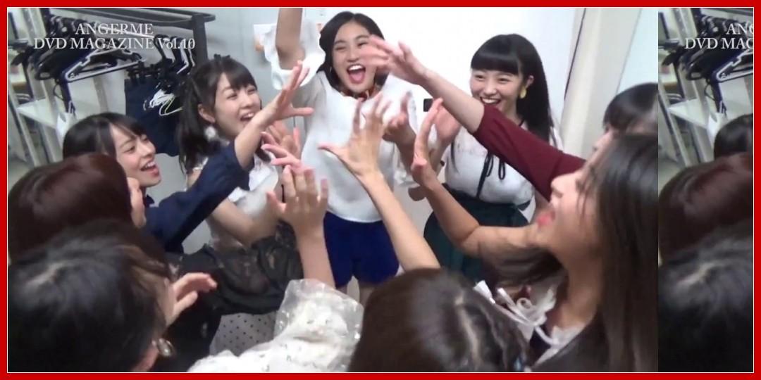 【動画あり】アンジュルム DVD Magazine Vol.10
