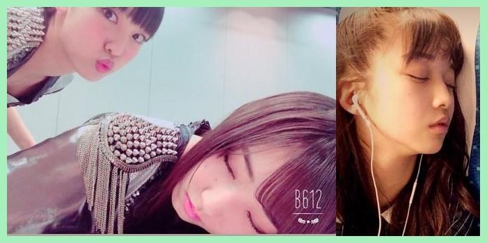 【エンタメ画像】メンバーの間で寝顔シリーズが流行ってるのかな?