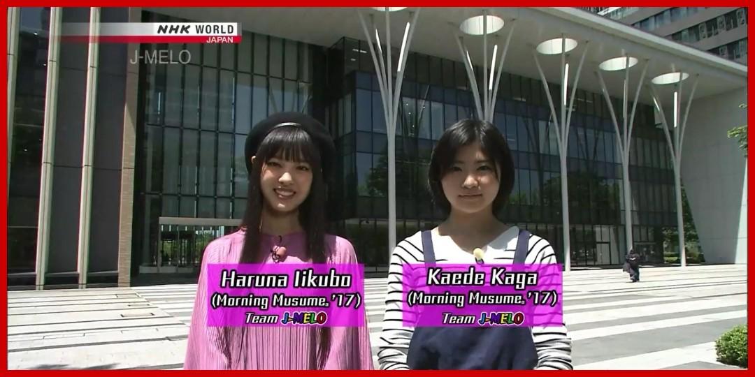 [動画あり]J-MELO 「Team J-MELO」 飯窪春菜・加賀楓 (モーニング娘。'17) 2017-6-19
