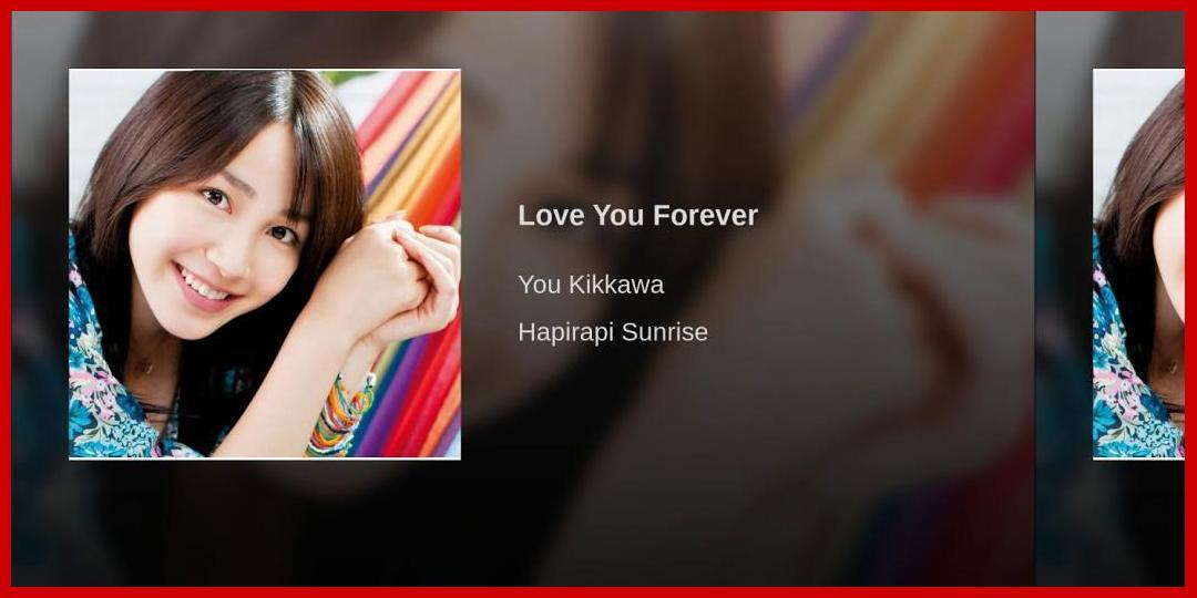 [動画あり][吉川友]Love You Forever