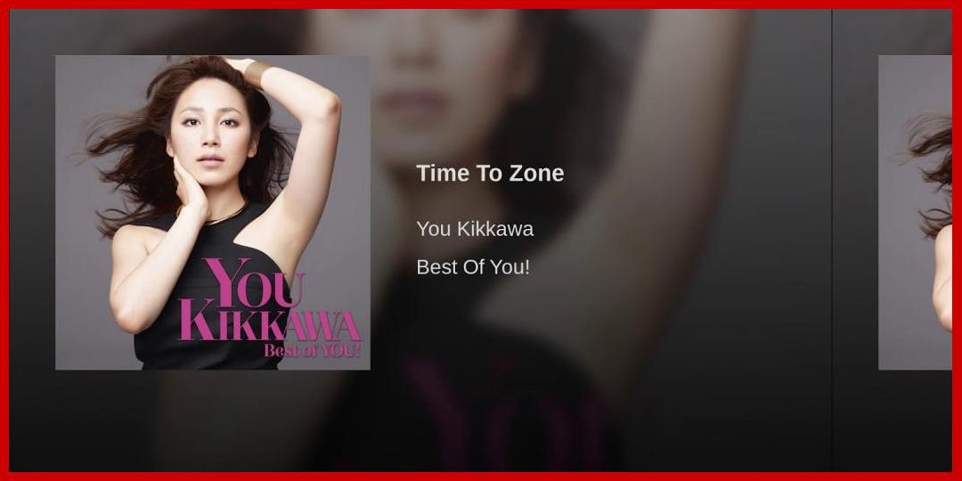 [動画あり][吉川友]Time To Zone