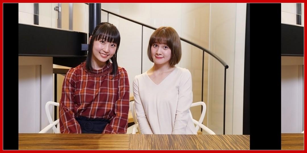 [動画あり]MC:岡田ロビン翔子(チャオベラ)、段原瑠々(J=J)  [アプカミ#109]