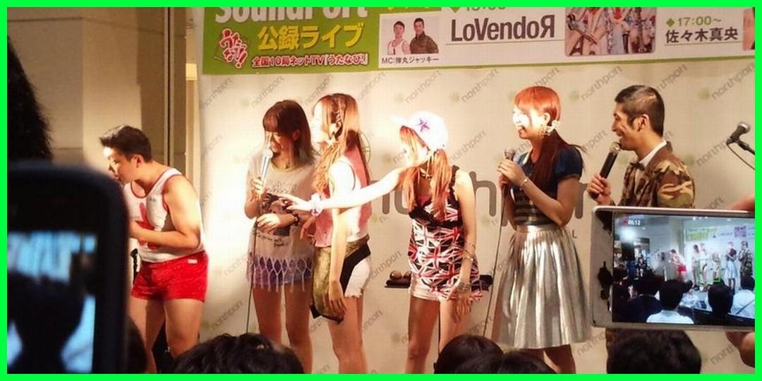 萌えてお出かけ LoVendoЯ 『うたなび!』ライブ「サウンドポート」(7/5 ノースポート・モール)