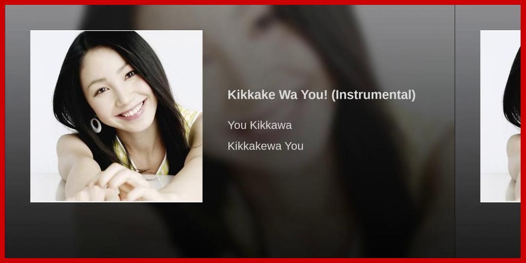 [動画あり][吉川友]Kikkake Wa You! (Instrumental)