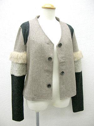 袖つぎはぎジャケット