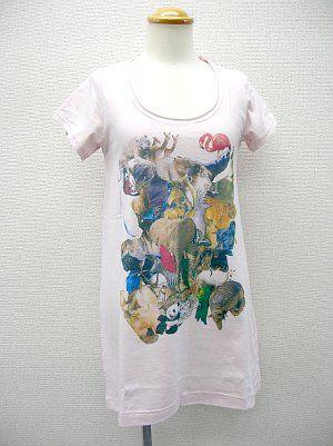 動物王国フレンチTシャツ