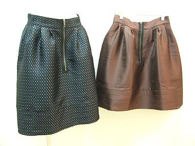 タック&ジップスカート