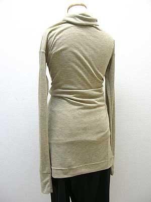 袖4本カーデ