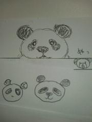 落書きシリーズ〜パンダ