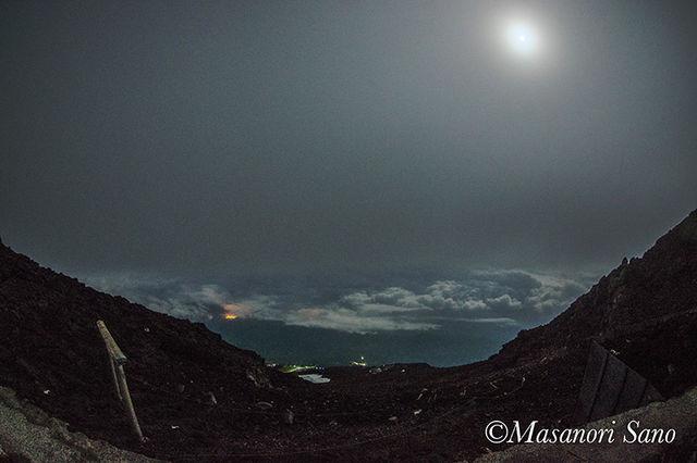 満月の登山道+800