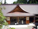 横峰寺 真新しい納経所で御朱印をいただく