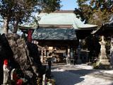 禅師峰寺  土佐湾からの潮風をもろに受ける本堂は木々が朽ち果てている部分もある