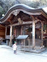 青龍寺  長い階段の最上部には本堂が構えています